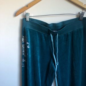 Juicy Couture | Teal Sweat Pants